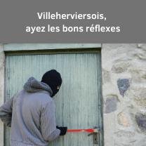 Villeherviersois, ayez les bons réflexes