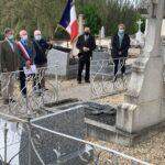 Cérémonie du 8 mai Villeherviers 2021
